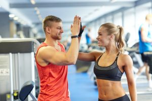 Gym Buddies High 5